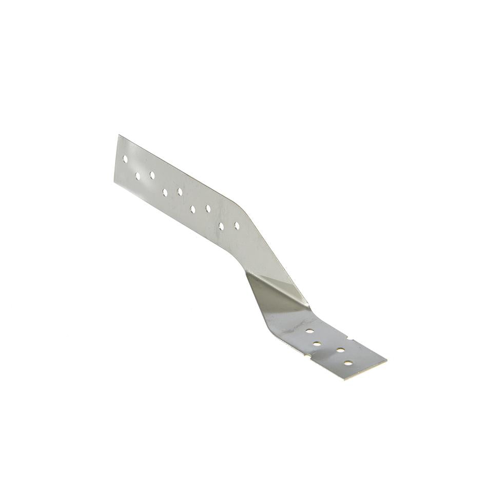 Ceiling Tie left hand stainless steel 200x27mm