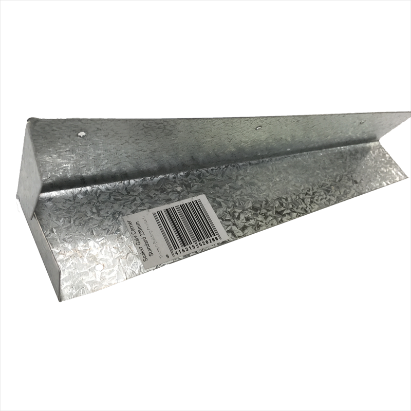Corner soaker galvanised standard 150mm