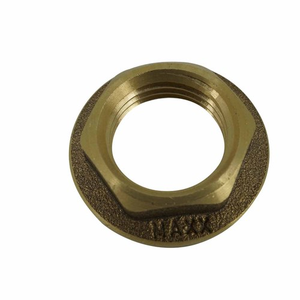 15mm standard back nut brass PlumbIT P2085