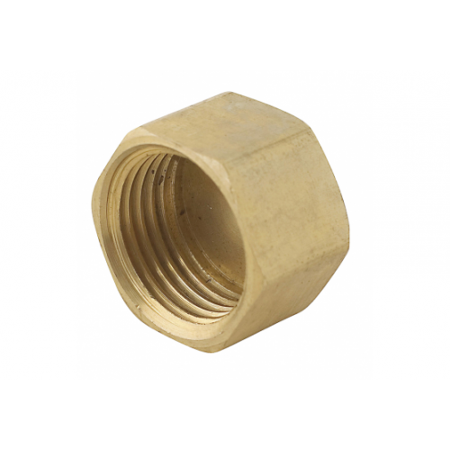 Blind cap brass fitting 20mm PlumbIT DTP2074