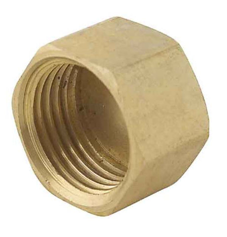 Blind cap brass fitting 20mm PlumbIt brand