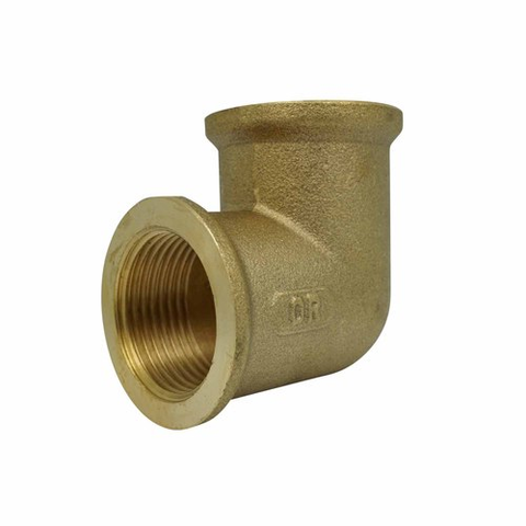 Brass female elbow plumbing fitting 20mm PlumbIT DTP2314