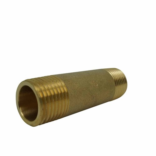 Barrel nipple brass 15x65mm PlumbIT DTP2406