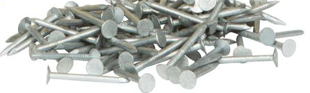 Clout nails 30mmx2.50mm Timbalok galvanised 5Kg