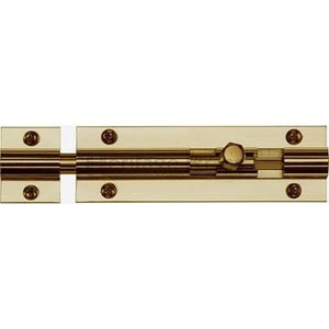 Barrel bolt 150mm Xcel Pro-Pak (CE Lawfords) Brass.