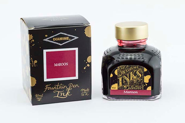 Diamine - Maroon 80ml Ink | Pen Venture - Passion for Luxury