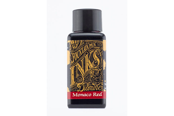 Diamine Monaco Red - 30ml Ink | Pen Venture - Passion for Luxury