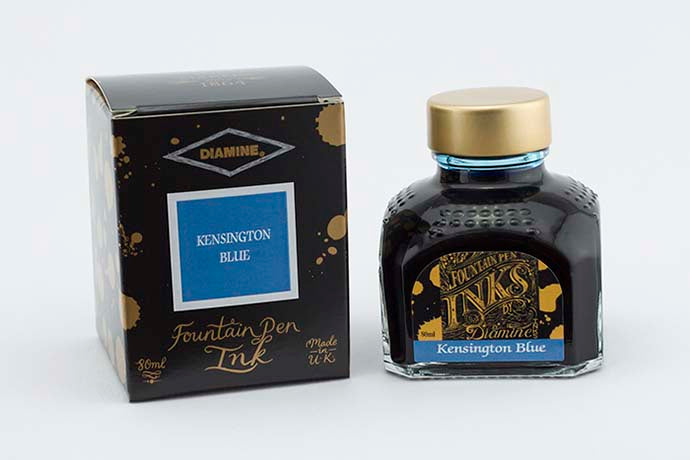 Diamine - Kensington Blue 80ml Ink | Pen Venture - Passion for Luxury