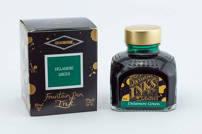 Diamine Delamere Green Ink | Pen Venture - Passion for Luxury