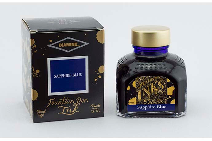 Diamine Ink - Sapphire Blue | Pen Venture - Passion for Luxury