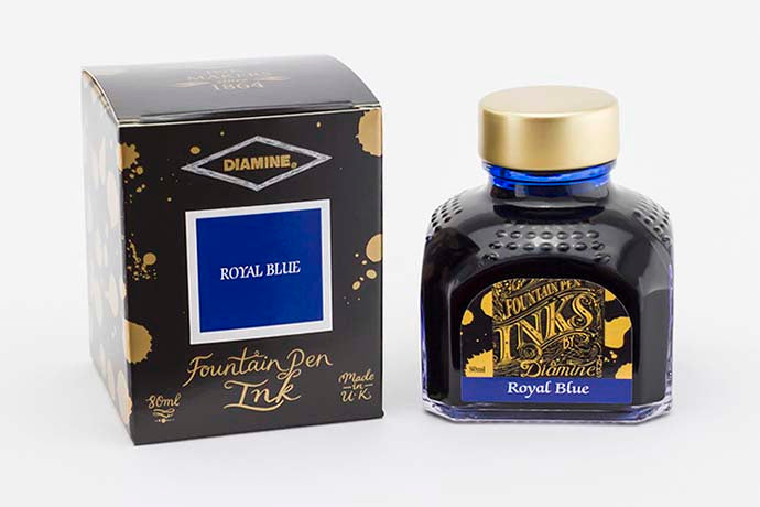 Diamine - Royal Blue 80ml Ink | Pen Venture - Passion for Luxury