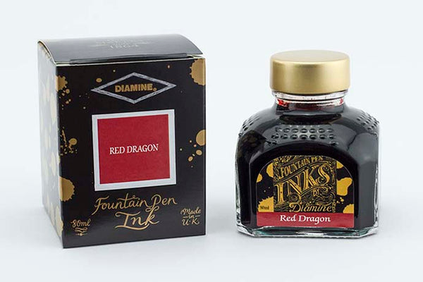 Diamine Ink Red Dragon | Pen Venture - Passion for Luxury