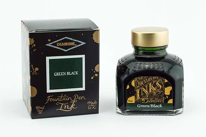 Diamine Ink Green Black | Pen Venture - Passion for Luxury