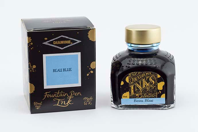 Diamine Beau Blue Ink | Pen Venture - Passion for Luxury