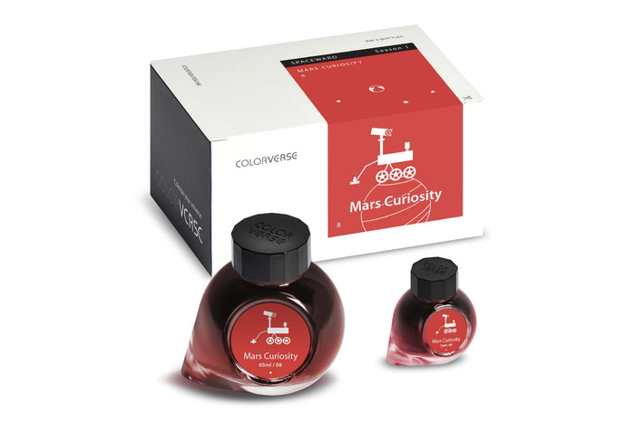 Colorverse ink Mars Curiosity season 1 - Spaceward | Pen-Venture - Passion for Luxury