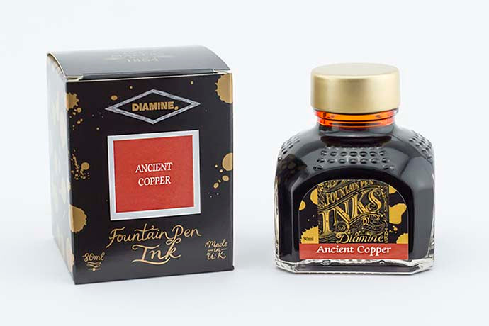 Diamine Ink Ancient Copper | Pen Venture - Passion for Luxury
