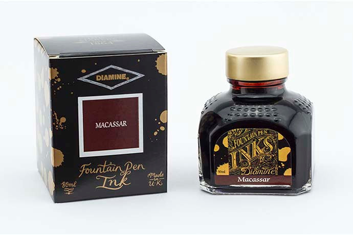 Diamine Macassar - Bottled Ink 80 ml