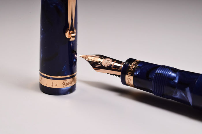 Armando Simoni Club ASC Pavarotti Music Nib - Blue la Royale | Pen-Venture - Passion for Luxury