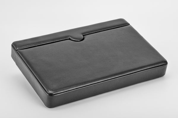 Breton - Travel Case For 12 Fountain Pens (Black Cow Hide)