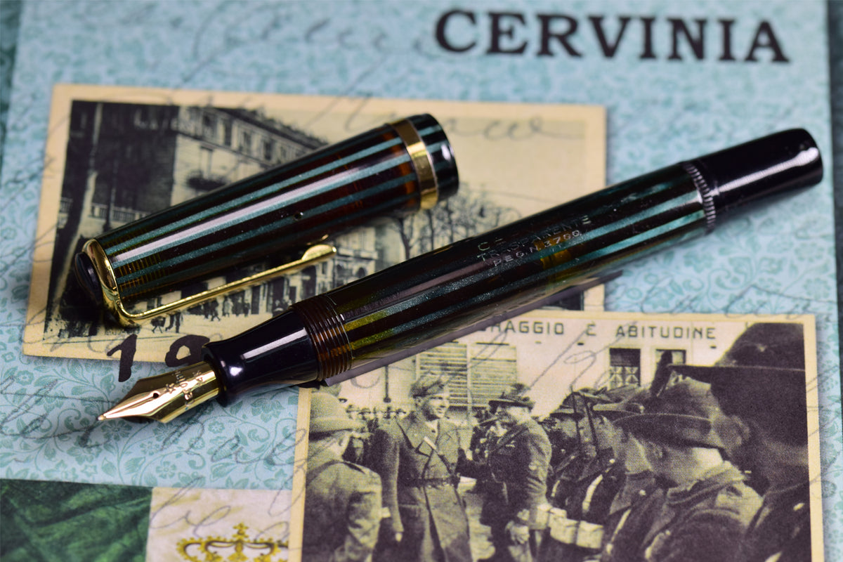 Cervina - Transparente Celluloid Fountain Pen