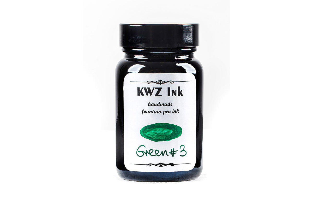 KWZ Ink - Green 3 | Pen Venture - Passion for Luxury