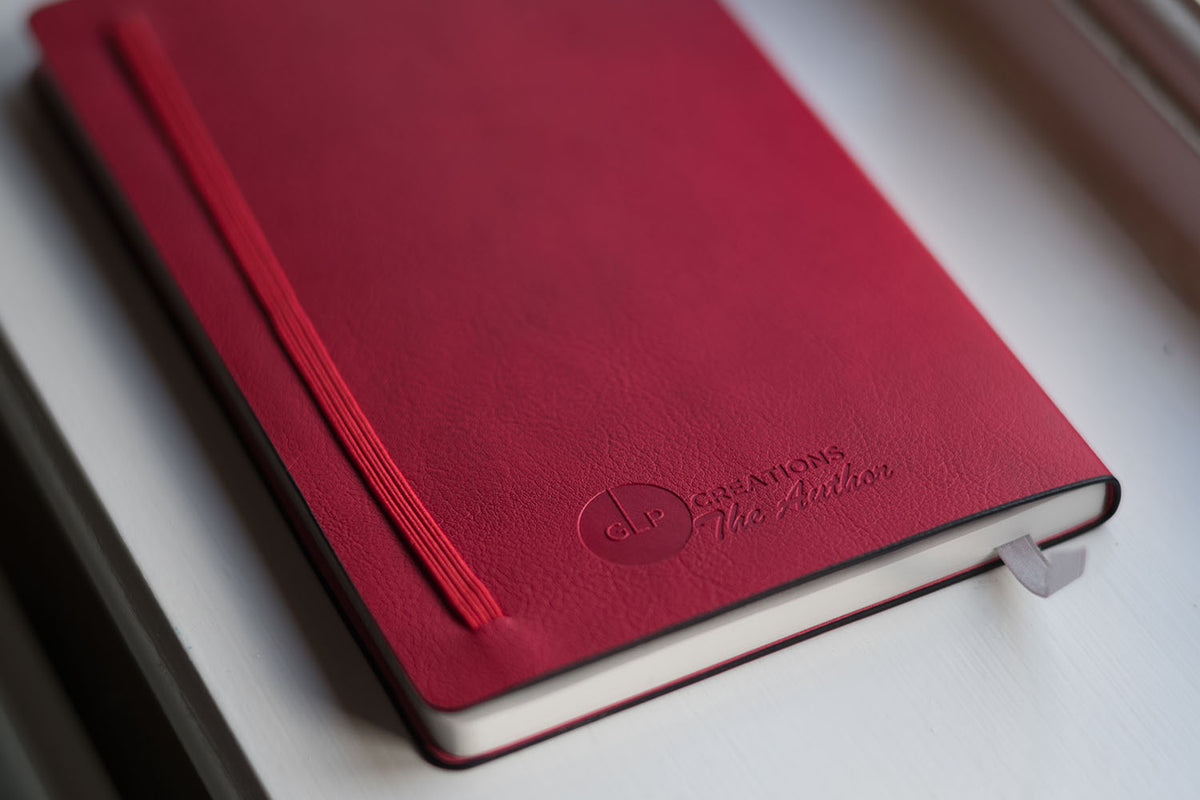 GLP Creations The Author Tomoe River Notebook Festive Red | Pen Venture - Passionf for Luxury