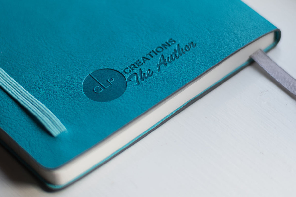 GLP Creations The Author Tomoe River Notebook Teal - Turquoise | Pen Venture - Passionf for Luxury