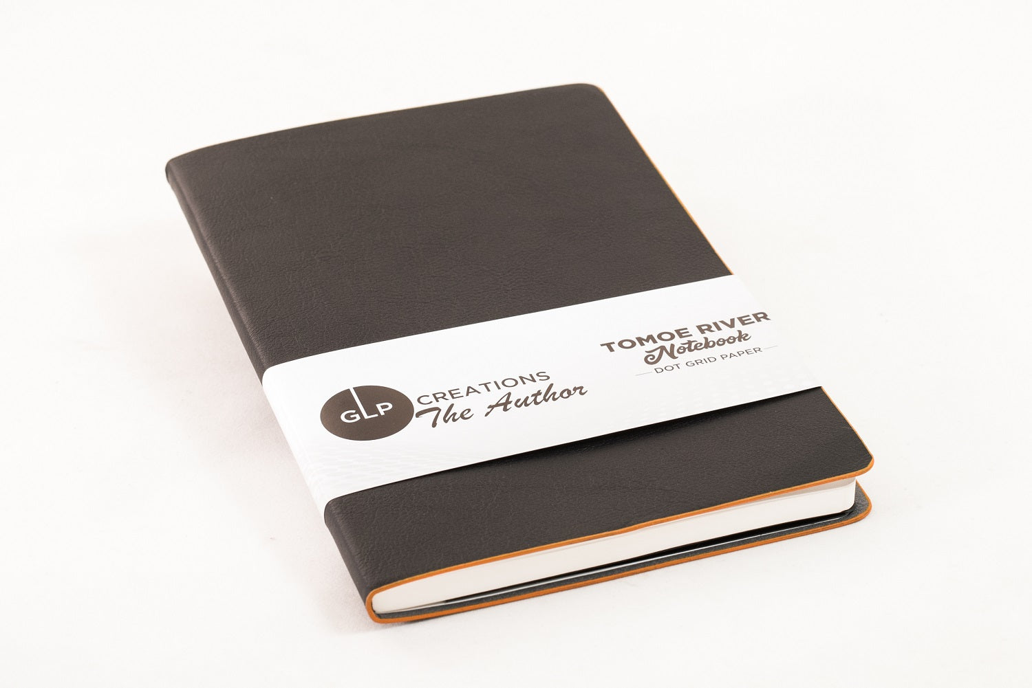 Anthracite//Dot Grid Tomoe River notebook The Author