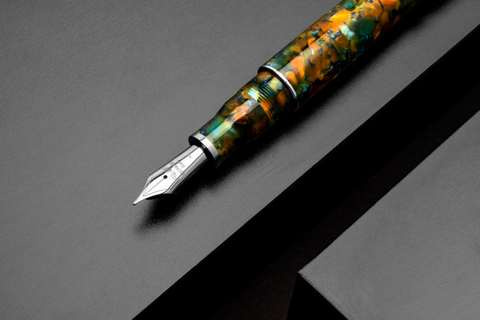 Leonardo Momento Zero Grande - new 2020 Girasole - Sunflower fountain pen | Pen Venture - Passion for Luxury