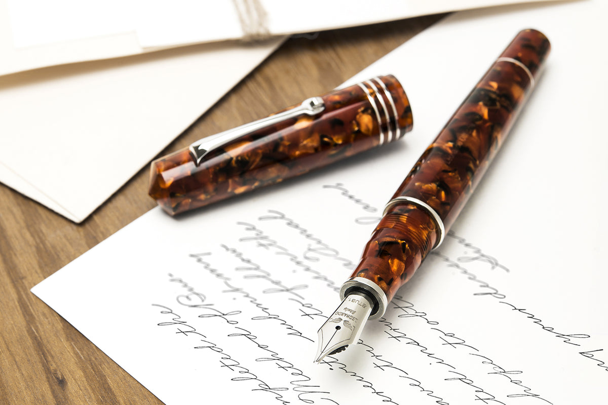 Leonardo Momento Zero GRANDE - Cooper Fountain Pen | Pen Venture - Passion for Luxury