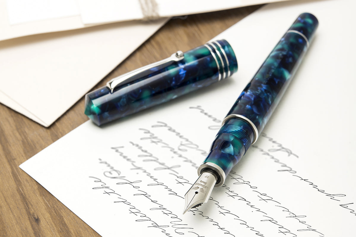 Leonardo Momento Zero GRANDE - Caraibe Fountain Pen | Pen Venture - Passion for Luxury
