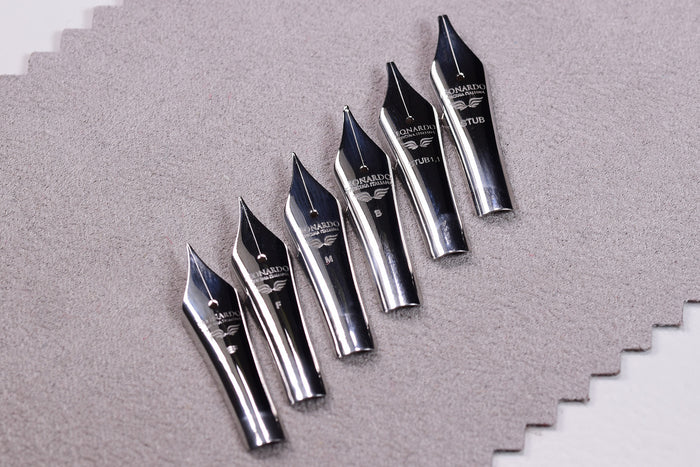 Steel Nibs for Leonardo - Momento Zero Fountain Pens | Pen Venture - Passion for Luxury