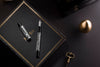 Montegrappa Nazionale Flex - Shiny Circles Fountain Pen (LTD) | Pen Venture - Passion for Luxury