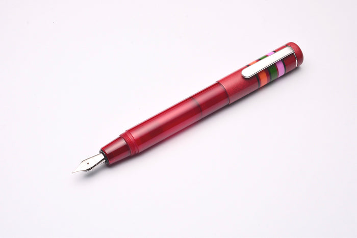Opus 88 Fantasia Fountain Pen Red Pen Venture Passion for Luxury