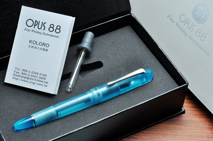 Opus 88 Picnic Blue Pen Venture Passion for Luxury