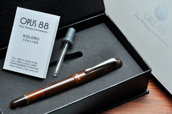 Opus 88 Picnic Brown | Pen Venture - Passion for Luxury