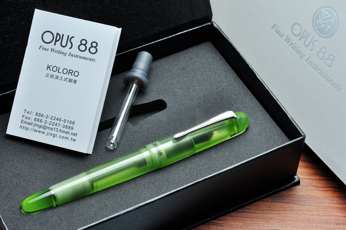 Opus 88 Picnic Green Pen Venture Passion for Luxury