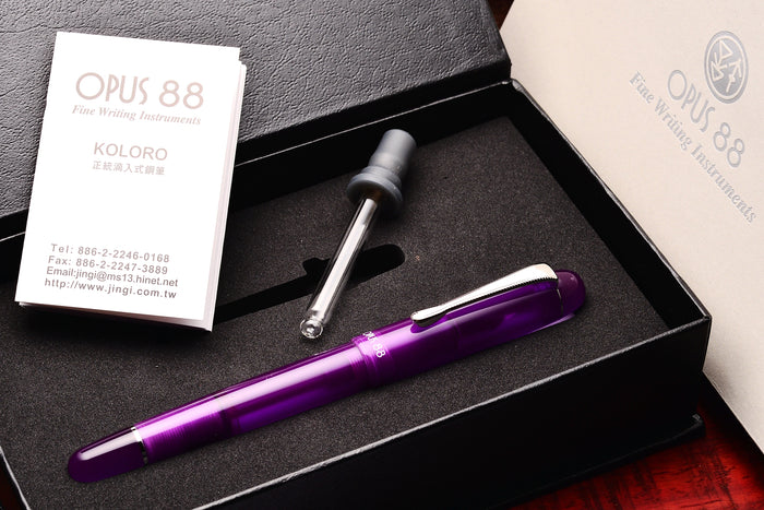 Opus 88 Picnic Purple Pen Venture Passion for Luxury