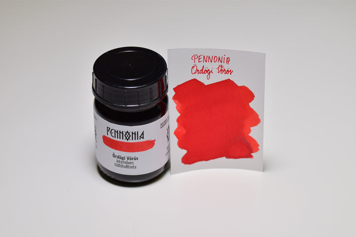 Pennonia Devil Red - Bottled Ink 50ml