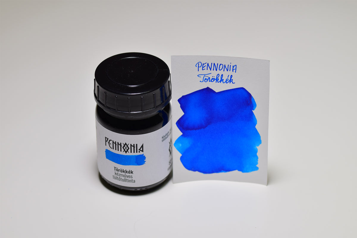 Pennonia Turkish Blue - Bottled Ink 50ml