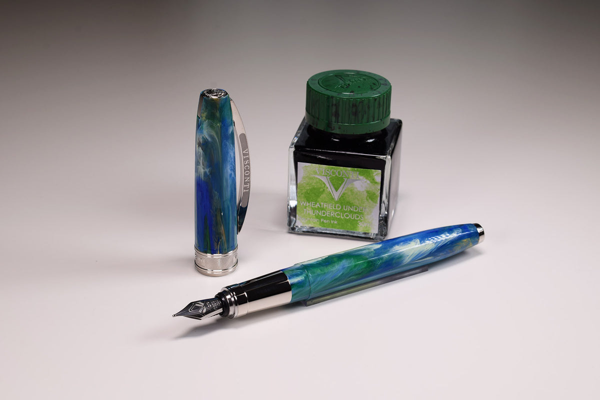 Visconti - Van Gogh The Impressionist 2019 - Wheatfield under Thunderclouds LTD - Italian Handcrafted Limited Edition Fountain Pen | Pen Venture - Passion for Luxury