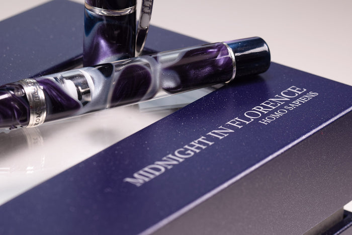 Visconti Homo Sapiens - Midnight in Florence LTD Fountain Pen | Pen Venture - Passion for Luxury