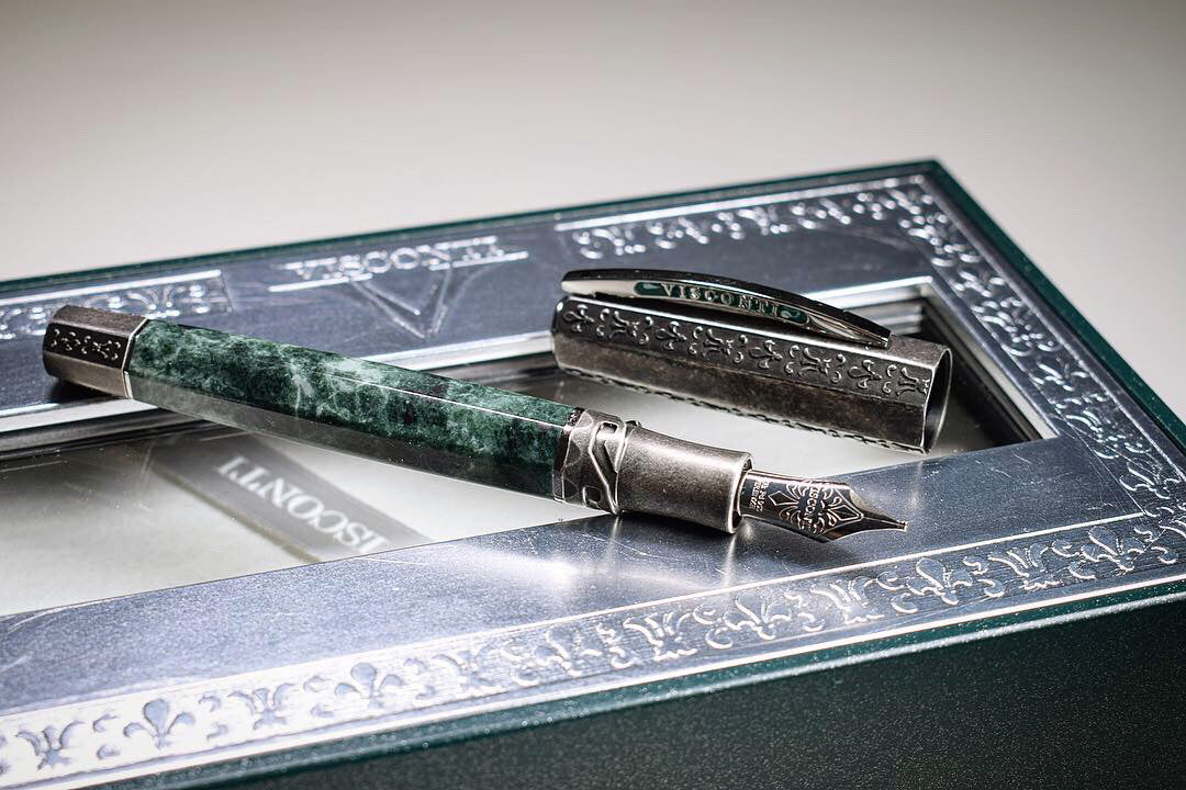Visconti Medici - Il Magnifico Serpentine LTD - Limited Edition Fountain Pen | Pen Venture - Passion for Luxury