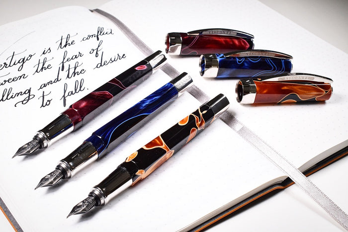 Visconti Opera Vertigo Arancio Brown Pen Venture Passion for Luxury