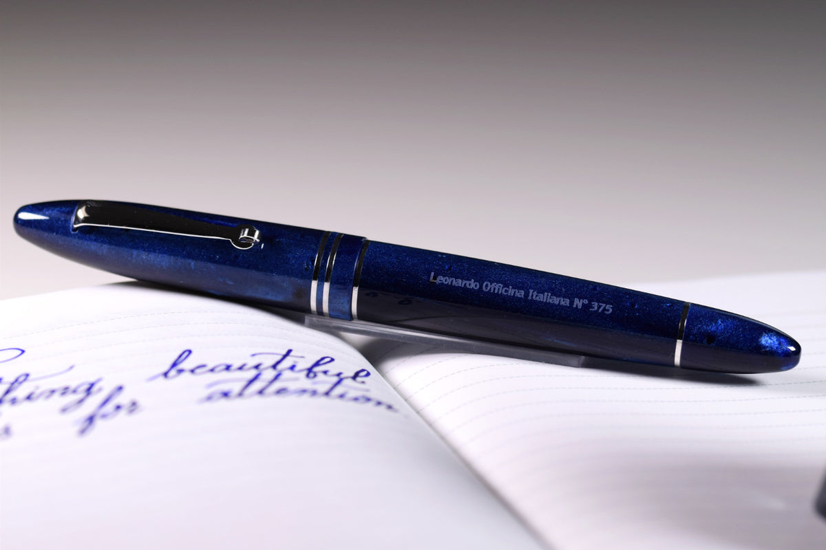 Leonardo Officina Italiana Furore - Blue Galaxy | Pen Venture - Passion for Luxury