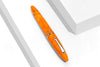 Leonardo Officina Italiana - Furore Orange - Arancio - gold or steel nib Fountain Pen | Pen Venture - Passion for Luxury