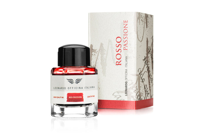 Leonardo Red - Bottled Ink 40 ml