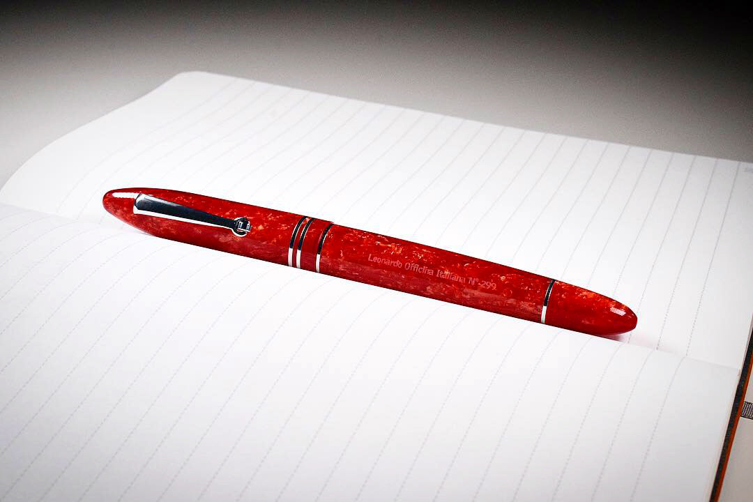 Leonardo Officina Italiana Furore - Red Passion | Pen Venture - Passion for Luxury