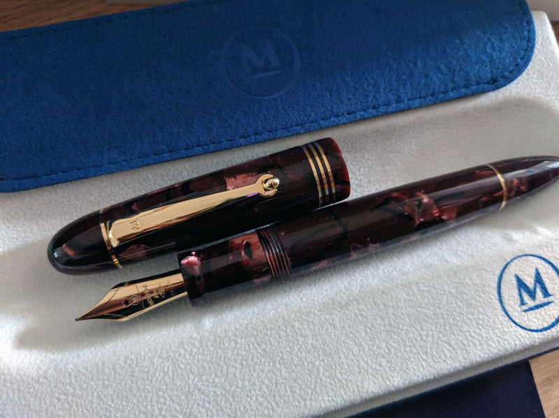 Molteni - Red Scarlet Limited Edition Fountain Pen | Pen Venture - Passion for Luxury