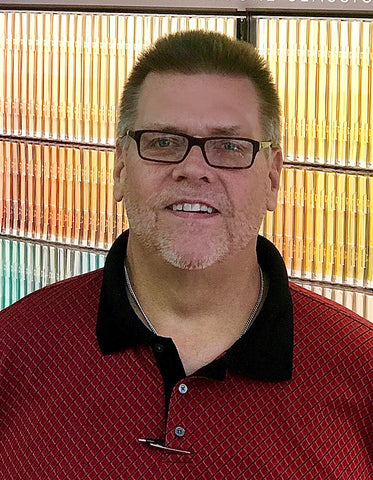 Jeff Moore, account manager with Cincinnati Color Company and Oakley Paint and Glass.